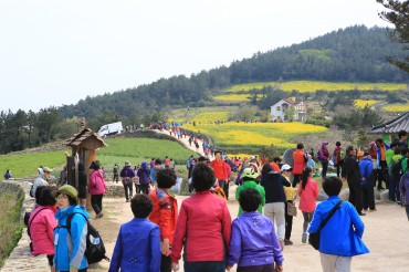 Korea's Slow City Cheongsan Island a Favorite Tourist Destination