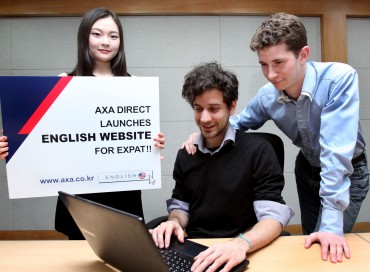 AXA Direct to Launch English Website for Expats in Korea