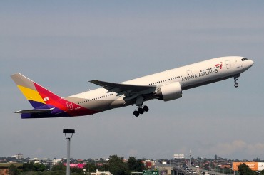 Asiana Airlines Exceeds Korean Air in Flying Passengers on Gimpo-Jeju Line
