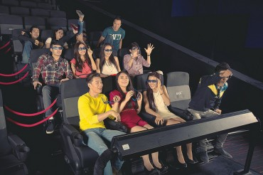 Video Advertisement on Korea Coming to 4DX Theaters