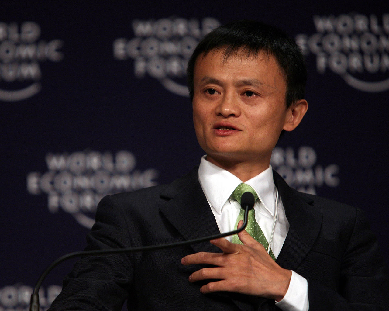 Established in 1999 by Jack Ma, Alibaba accounts for around 80 percent of the Chinese e-commerce market. (image: wikimedia)