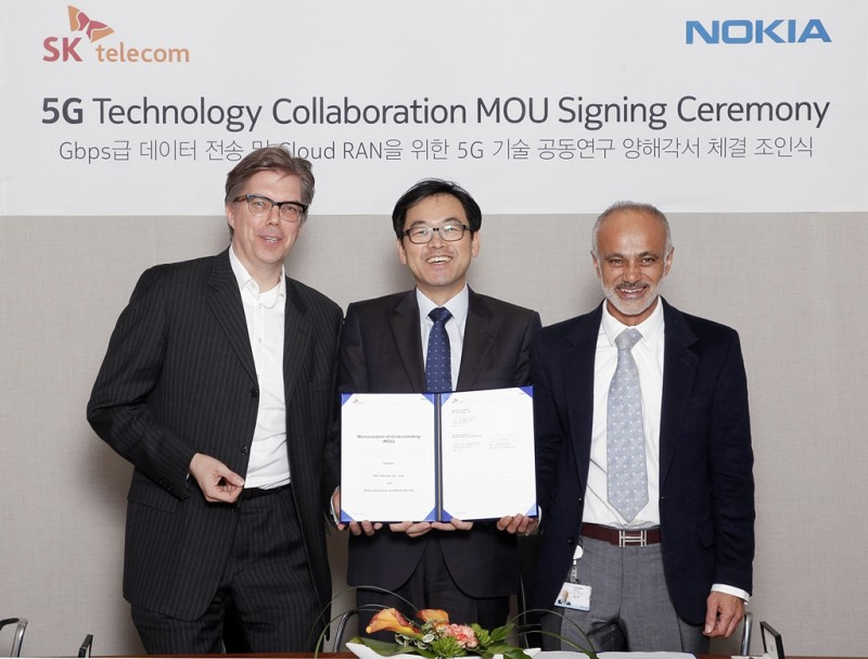 SK Telecom Strengthens Cooperation with Nokia for Development of 5G Technologies