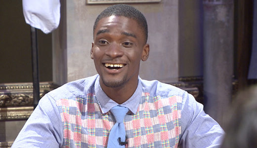 Sam Okyere has been a delightful presence on JTBC's hit talk show 'Non-Summit,' with his wit and laid back attitude. (image: JTBC)