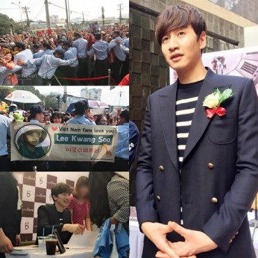 Lee Kwang-Soo Proves Huge Popularity in Vietnam