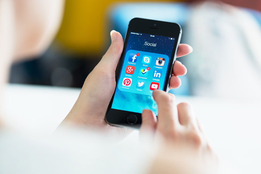 Among the top 50 popular apps, 8 apps were SNS related, and time spent on those apps represented 40.3 percent of the overall time spent on all 50 apps. (image: Kobiz Media / Korea Bizwire)