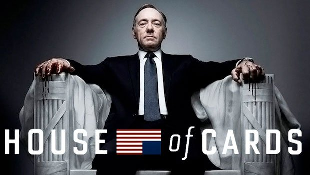 """John David Coles will share the factors for the success of """"House of Cards,"""" a well-made drama with robust directing, a brilliant scenario and excellent acting. (image: official poster of House of Cards)"""