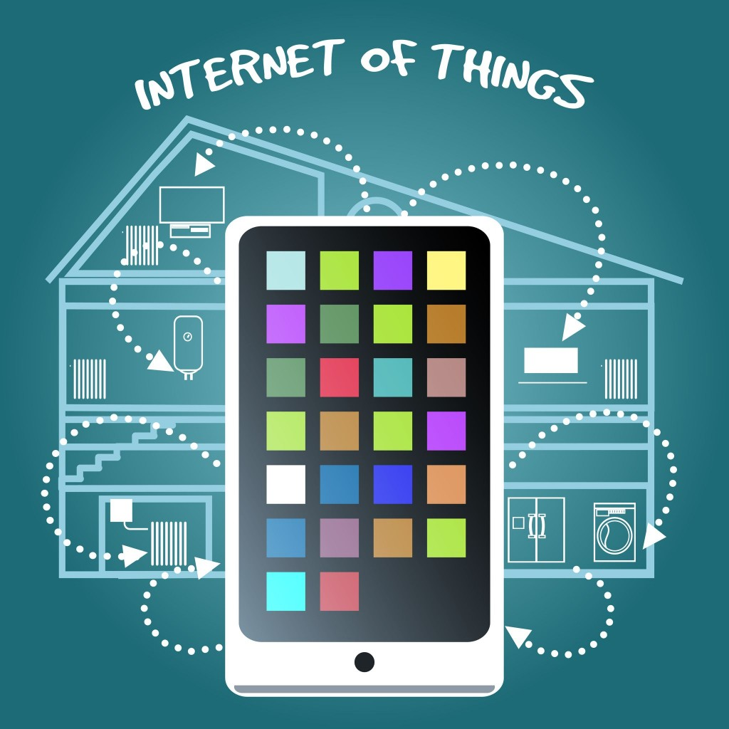 The IoT is a concept in which all tangible objects are connected to the Internet and can identify themselves to other devices to exchange necessary data for improved efficiency and convenience. (image credit: Kobiz Media)