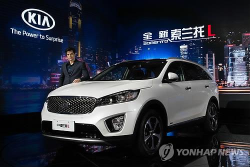 Kia Motors Aims to Sell 20,000 Sorento SUVs in China