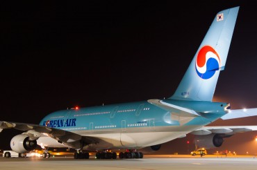 Korean Air Suffers Drop in Domestic Passengers Following 'Nut Rage' Incident