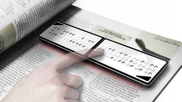 Korean Designer's Braille Reader Nominee for Lexus Design Award 2014