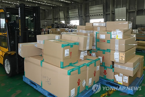 Overseas direct purchases by S. Koreans reach new high in 2014: report