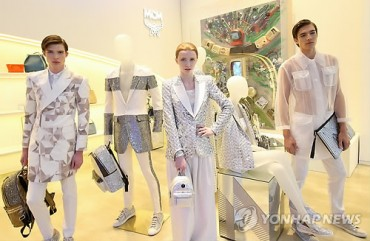 Diamond Themes for MCM's 2015 S/S Collection