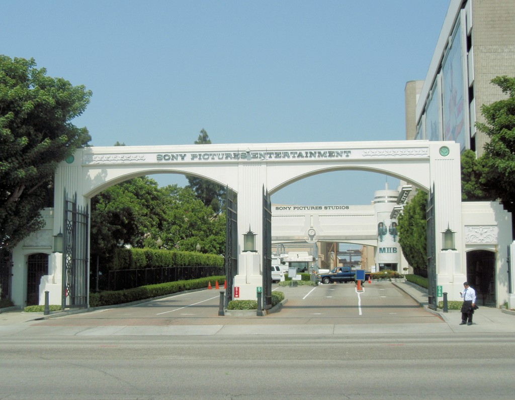 Entrance to SPE main lot in Culver City (image: Wikipedia)