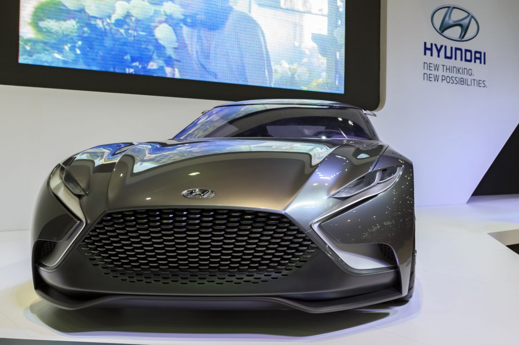 Hyundai HND-9 Concept model displayed at Bangkok International Motor Show on December 6 last year (image credit: Kobiz Media)