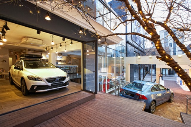 Volvo Korea Opens Pop-Up Store Cafe 'The House of Sweden'