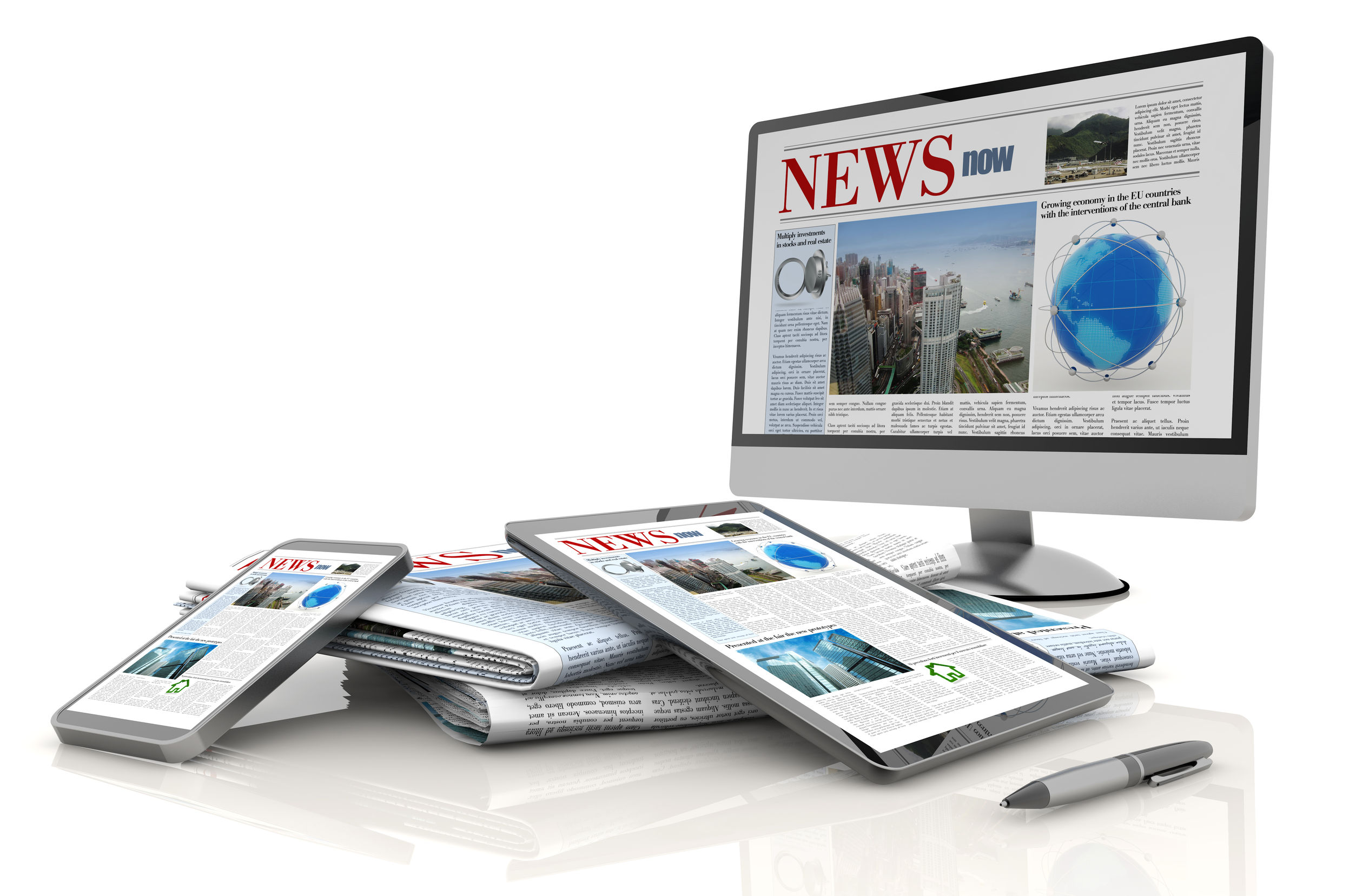 effect of growing internet newspapers on