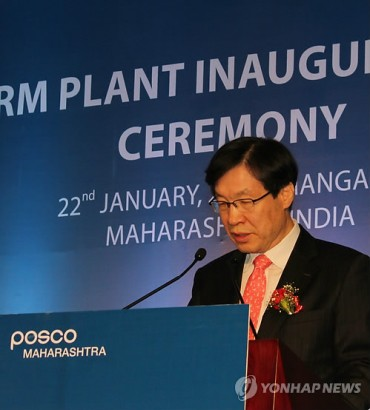 POSCO Building Strength in India