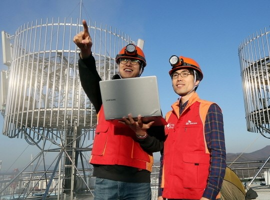 SK Telecom announced that it, together with Nokia Networks, commercialized a core LTE-A technology called 'Enhanced Inter-Cell Interference Coordination (eICIC)' for the first time in the world. (image: SK Telecom)