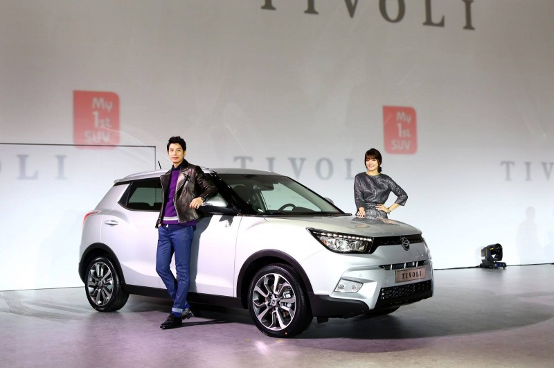 Ssangyong Motor's Tivoli Sales Top 8,000 Units in Less than One Month