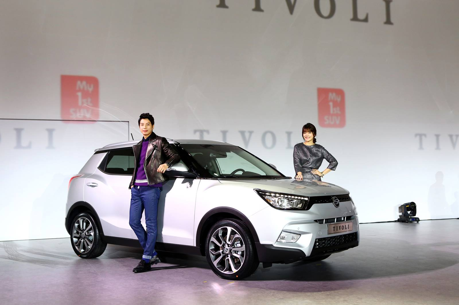 The Tivoli was designed to appeal to younger customers, sporting relatively roomy cargo space and a cheaper price tag compared to other same-segment rivals. (image: Ssangyong Motor)
