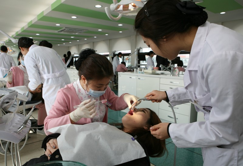 Hazing By Dental Hygiene Care at Chung Cheong Univ., In Korea