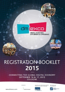 The number of exhibitor registrations for dmexco 2015 has already surpassed last year's record-setting figure. (image: dmexco2015 Organizing Committee)