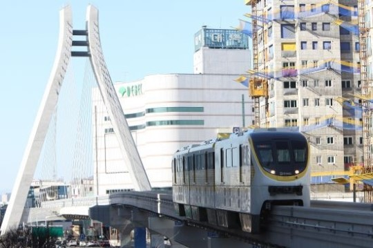 Daegu Subway Line No. 3: Korea's First Monorail Due to Open in April