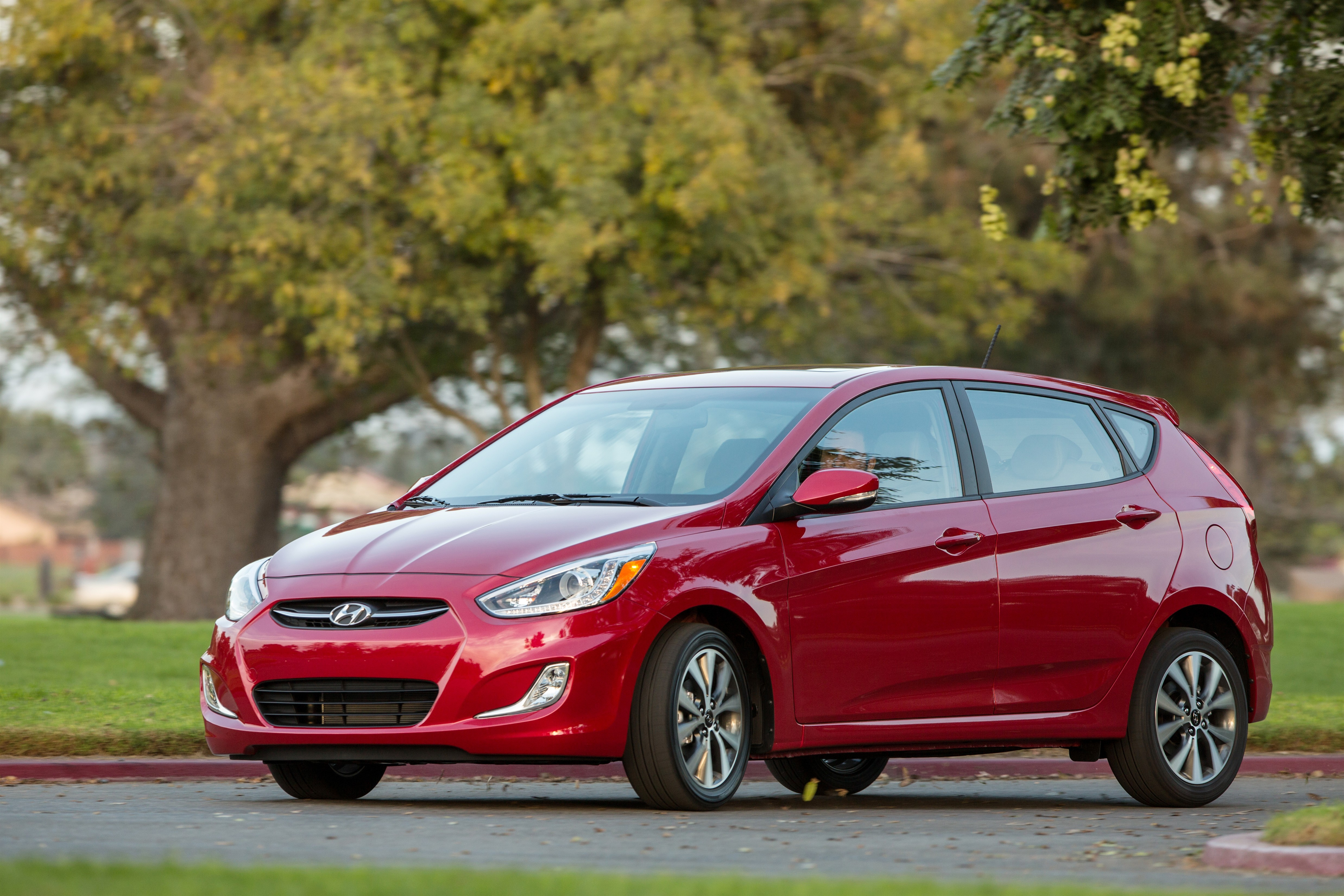 Hyundai Motor Co.'s Accent topped the subcompact car market in China in terms of sales last month. (image: Hyundai Motor)