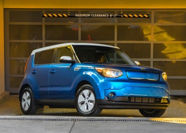 Kia Motor's Soul EV Named Best Eco-Friendly Vehicle