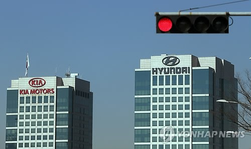 Hyundai Motor Co. and Kia Motors Corp. are facing growing challenges in emerging markets with their sales either shrinking or slowing in growth. (image: Yonhap)