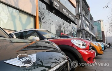 Imported Cars Setting Popularity Records in Korea