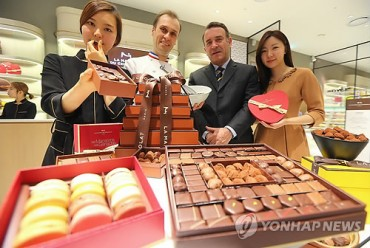 La Maison du Chocolat Opens First Store in Korea