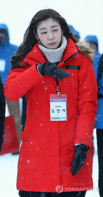 As an honorary Games Ambassador, Kim Yuna expressed her wishes for a successful event. (image: Yonhap)