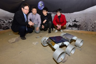 KIST Unveils Korea's First Moon Rover