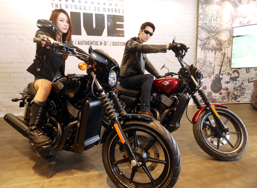 Harley-Davidson Launches 2015 Street™ XG750 in Korea