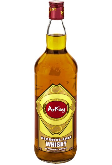 ARKAY Cinnamon whisky is a version of a combination of non-alcoholic American bourbon, Spanish sherry and Spanish Malaga aromas. (image: Arkay)