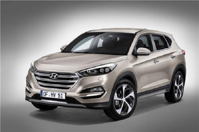 The Tucson is tailored to meet European consumer demands with updated features and design. (image courtesy of Hyundai Motor)