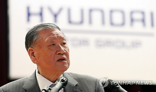 Hyundai Motor Chairman, Son Gain $1 Billion from Stake Sale in Logistics Arm
