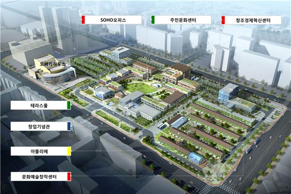 Samsung Group said it will invest 90 billion won (US$81.3 million) to build a center at the conglomerate's birth city that assists local startups. (image: Samsung)