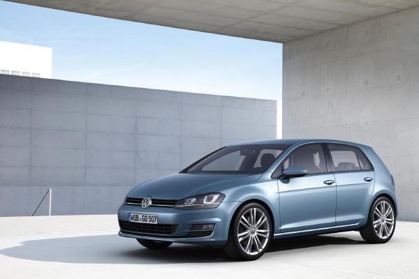Volkswagen's 7-generation Golf (image provided by Volkswagen Korea)