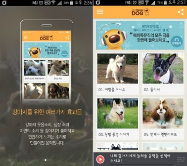 CH Happy Dog and DION Launch Music App for Dogs