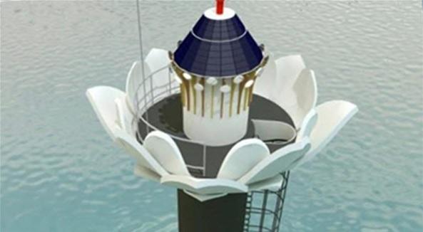 Port of Gunsan to Install Lotus Shaped Maritime Beacons