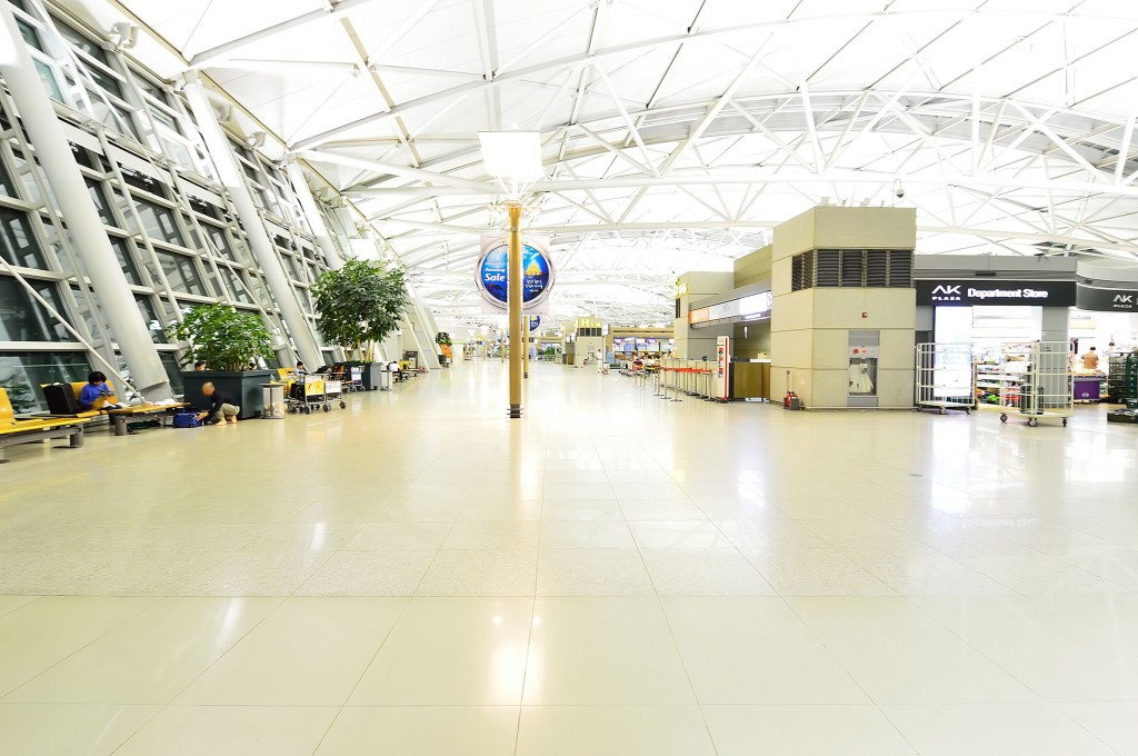 Incheon Int'l Airport (image courtesy of Kobiz Media)
