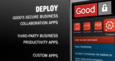 Samsung Delivers Advanced Android Enterprise Mobility Solution with the Launch of Good for Samsung KNOX