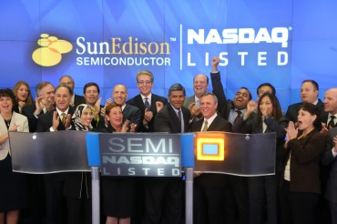 SunEdison Semiconductor Receives Best Partner Award from Samsung