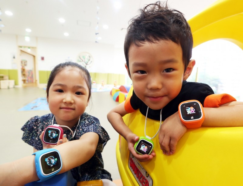 'T-Kids Phone' Safety Wearable for Children Marking Success in Korea
