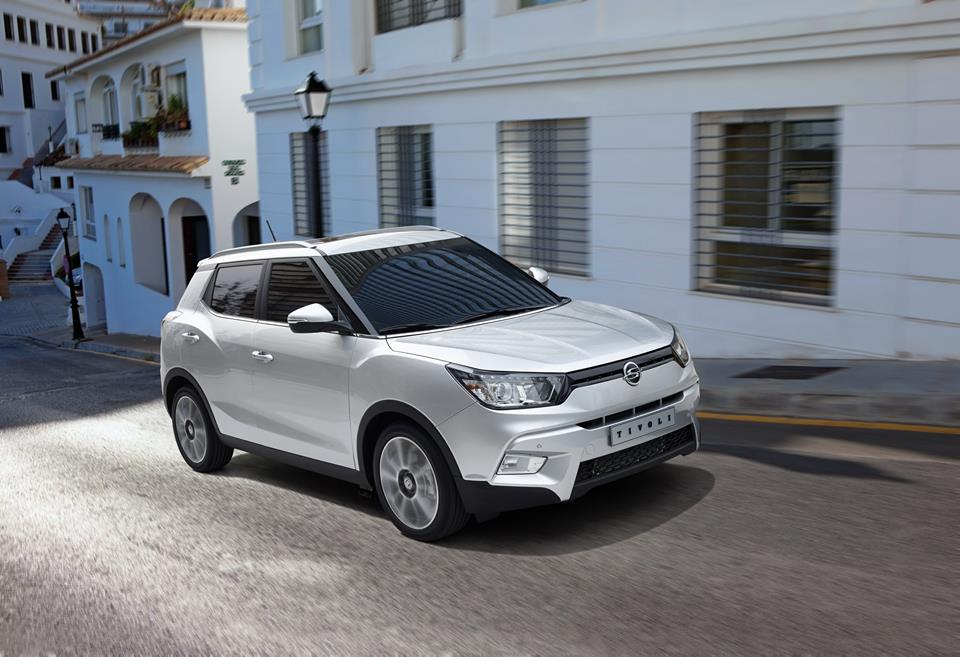 Ssangyong has sold more than 8,000 units of the Tivoli in the Korean market. (image: Ssangyong Motor)