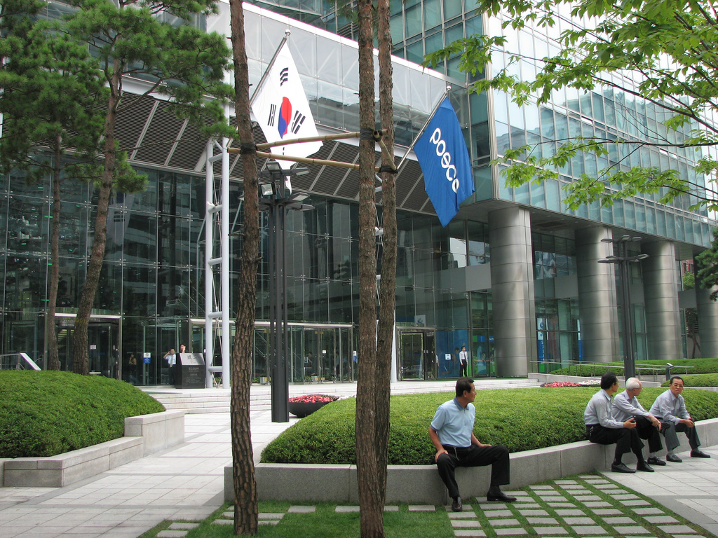 Several current and former executives of POSCO E&C and its parent steelmaker POSCO will be summoned soon for questioning over their alleged role in the creation of an overseas slush fund. (image: Ian Muttoo/flickr)