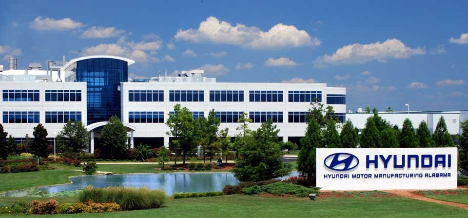 The new factory, which would be built near the carmaker's current Alabama plant, would have an annual production capacity of 300,000 units. (image: Hyundai Motor)