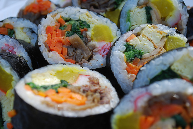 Gimbap the Most Sought-after Korean Popular Food by Japanese